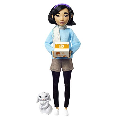 Great Gift for Ages 6Y+ Chang/'e Collector Doll 14-inch with Traditional Chinese Gown and Accessories Netflix Over The Moon Includes Jade Rabbit Figure