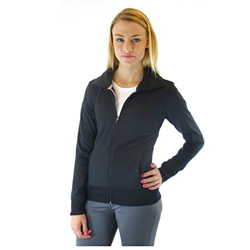 (Alex + Abby Women's Essential Full Zip Jacket 1X)