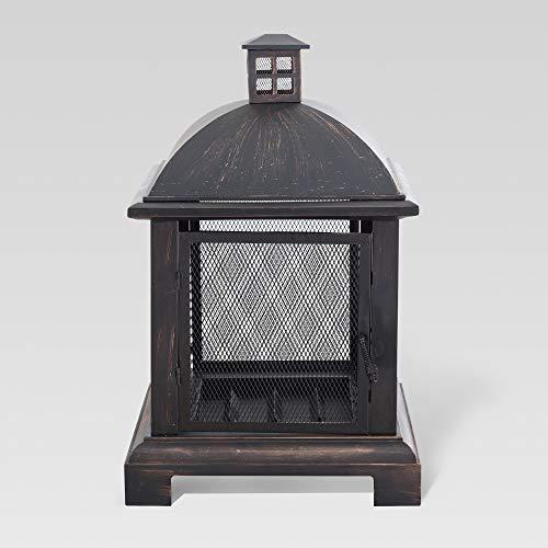 Sunjoy 110501088 Fireplace, Black