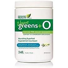 greens+ O Organic Vegan Vanilla (248g) (greens plus o) Brand: Genuine Health