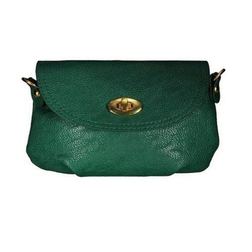 TOOGOO(R)Donne borsa a mano borsa a tracolla Totes Borse Messenger verde scuro
