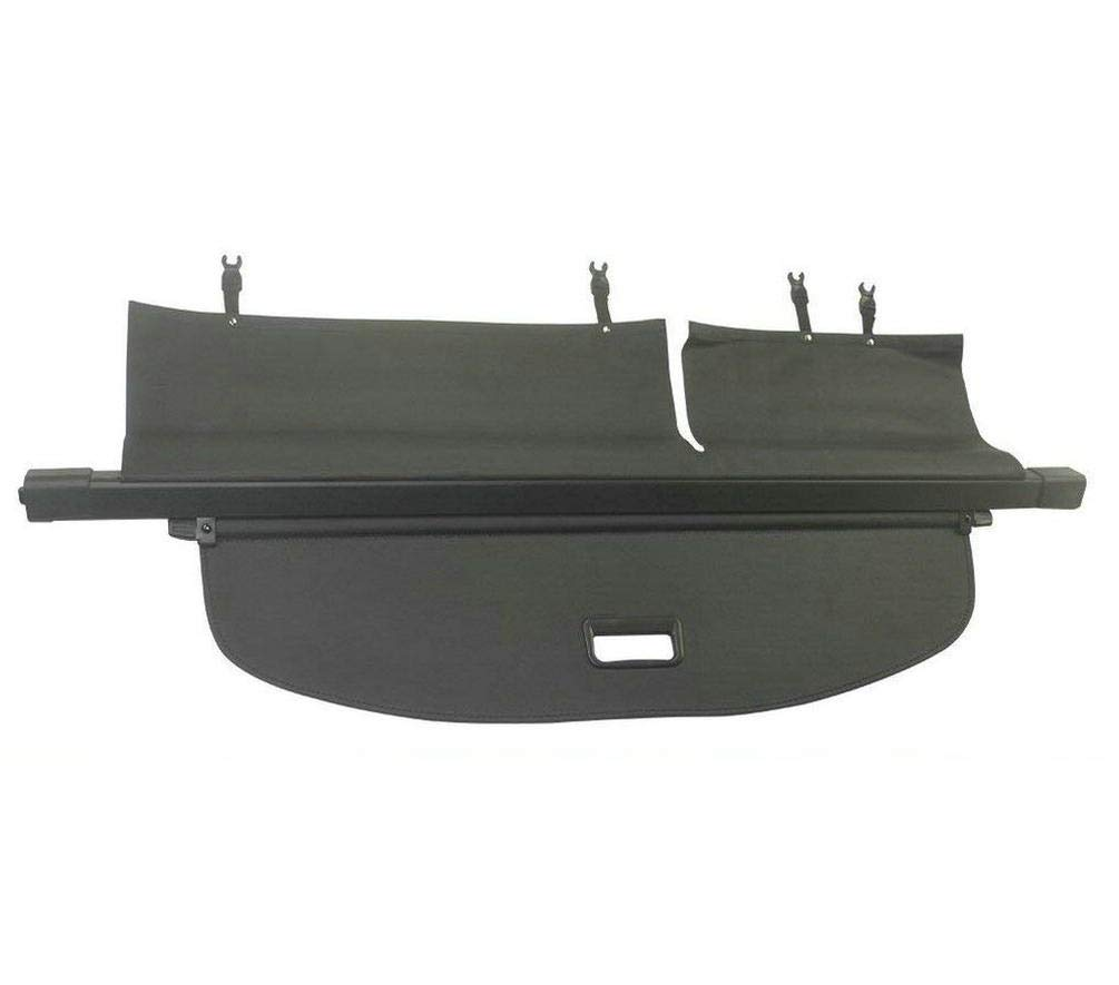 Icegirl Interior Rear Trunk Cargo Cover Security Shield For Jeep Cherokee 2014 2015 2016 2017 (Black) (cargo cover)