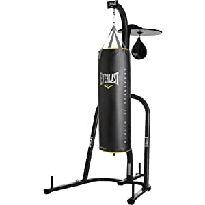 Everlast Dual Station Punching Bag Stand W 100 Lb