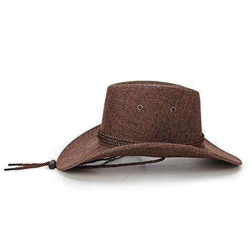 a71ca38e3f Emorias 1 Pcs Sombrero de Vaquero Hombre Cowboy Retro Sombrero de Copa  Gorra Niño Viajes Accesorios  Amazon.es  Ropa y accesorios