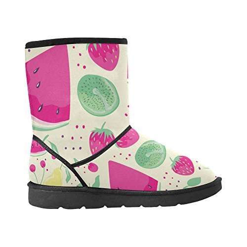 Pattern Color14 Tribal Doodle Boots 5 Snow Womens Colorful Print Starts Ladies Abstract 12 Size InterestPrint Classic 5 aPCqxg