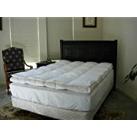 Natural Comfort FBQ Imperial Queen White Goose Down Feather Bed