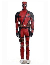 X-Men Deadpool Overall Battleframe PU cosplay costume