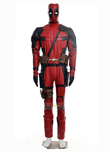 X-Men Deadpool Overall Battleframe PU cosplay costume