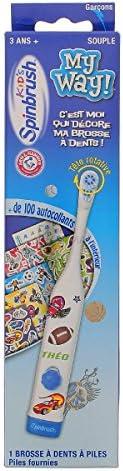 Spinbrush My Way Toothbrush for Kids 3+ - Model : Boy
