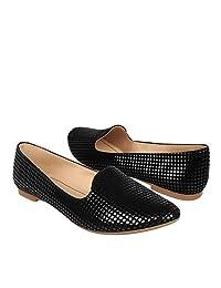 STYLO Zapatos 1905 3-6 Suede Negro