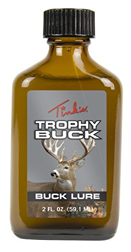 Tink's Trophy Buck Lure Glass Bottle, 2 oz.