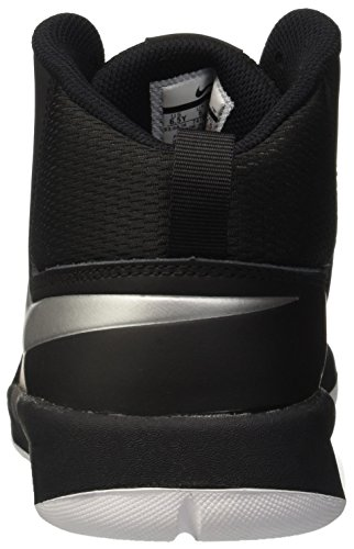 7 Team Hustle Silver NIKE Espadrilles Black Ball Noir Basket Homme white D GS de Metallic tp1wxqw