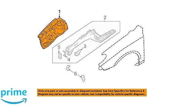 Genuine Hyundai 64514-21000 Fender Apron Reinforcement
