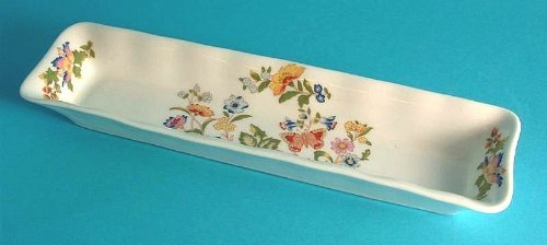 Aynsley Cottage Garden Mint Tray - 8.5 inches in length - A6