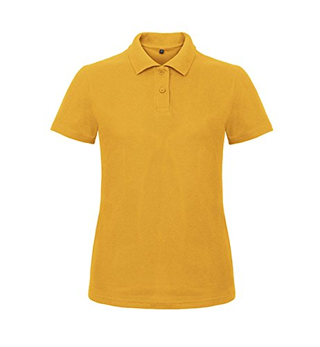 Polo ID.001 / Mujer Chili Gold