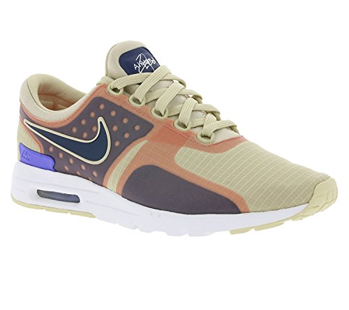 Nike Vrouwen Air Max Nul Si Havermout / Binair Blauw-wit