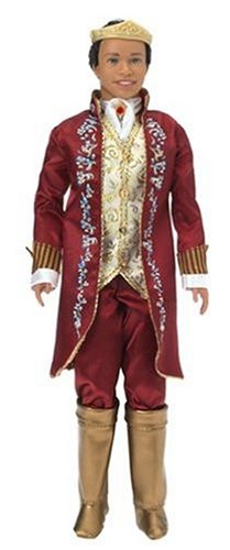 Barbie as The Princess and The Pauper: Ken as King Dominick and Tutor Julian Doll (African (King Julian Costume)