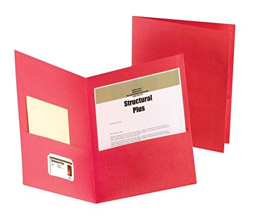 Esselte Presentation Folders - Oxford 5012658 Esselte Pendaflex Heavy Duty Jumbo Pocket Folder, 2 Pockets, 12