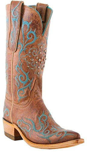 Lucchese Heritage Womens Peanut Brittle Mad Dog Goat N4746CLOSEOUT r29Nhvnd