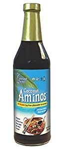 Coconut Secret Organic Aminos Soy-Free Seasoning Sauce, 8 Ounce