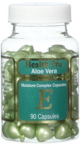 Health Pro - Aloe Vera - Moisture Complex Capsules E - Facial Oil - 1 Container (90 Capsules)