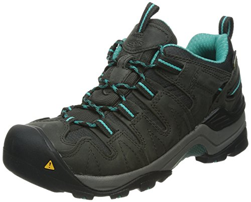 UPC 887194175949, KEEN Women's Gypsum WP Hiking Shoe, Raven/Baltic, 5.5 M US