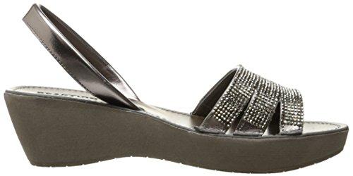 Kenneth Cole Reaktion Kvinders Fine Kile Slingback Juvelbesatte Platform Sandal Rødgods a9vWv9e
