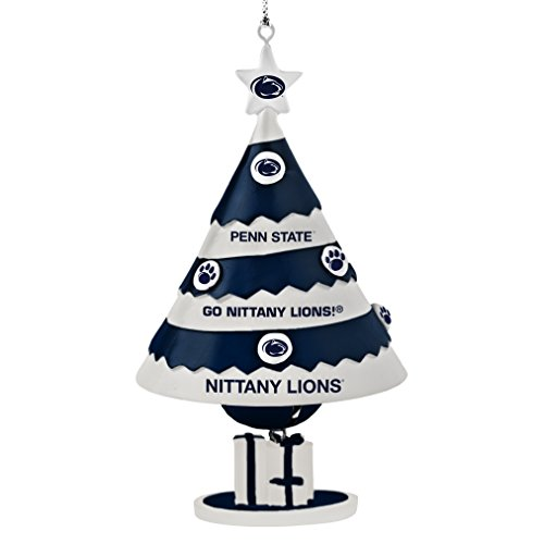 NCAA Penn State Nittany Lions Tree Bell Ornament (Ornaments State Christmas Penn)