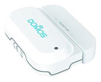 Domos SP-0. Sensor de apertura wifi para puertas y ventanas, monitorizable desde cualquier lugar, sin necesidad de hub. Combinable con otros productos ...