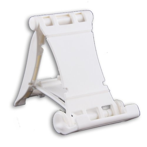 White Mini Desk Stand Holder Dock For Mobile Phone /Smart Phone /iPhone /BlackBerry
