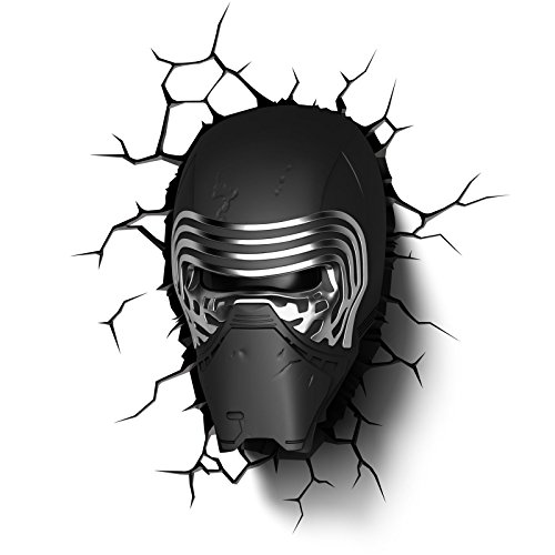Star Wars Kylo Wall Light