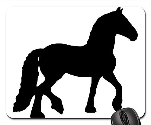 Mouse Pads - Horse Equine Animal Black Silhouette Art Clip-Art - Signs Traffic Clipart