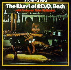 The Wurst of P. D. Q. Bach by Vanguard