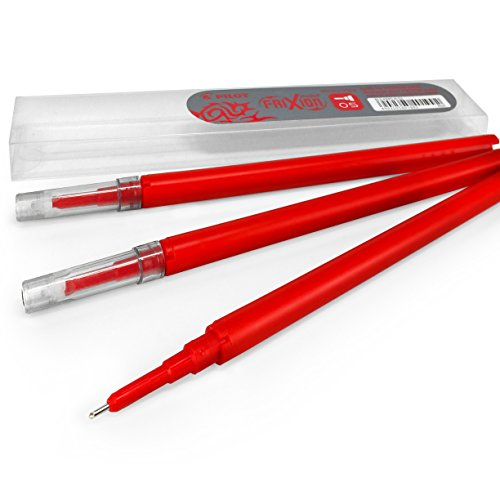 Pilot Frixion Point Refills – 0.5mm Needle Point – Pack of 7 – 21 Refills - 1 of Each Colour by Pilot-Frixion (Image #1)