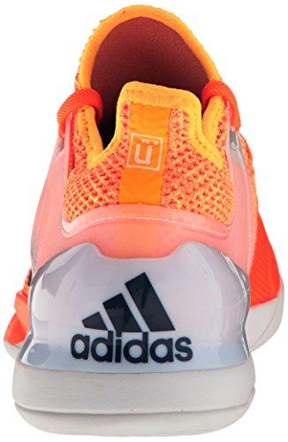 Adidas Mænds Adizero Ubersonic 2 Tennissko Glød Orange / Mysterium Blå / Hvid V5d8vxJz