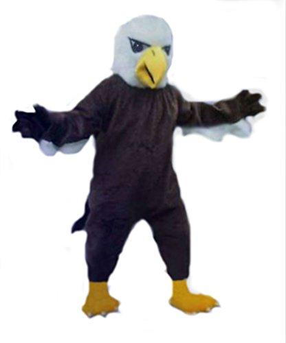 cjs huggables Mascots USA Custom Pro Low Cost Bald Eagle Mascot -