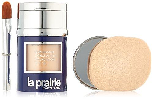 La Prairie Skin Caviar Concealer Foundation SPF 15, Creme Peche, 1 Ounce