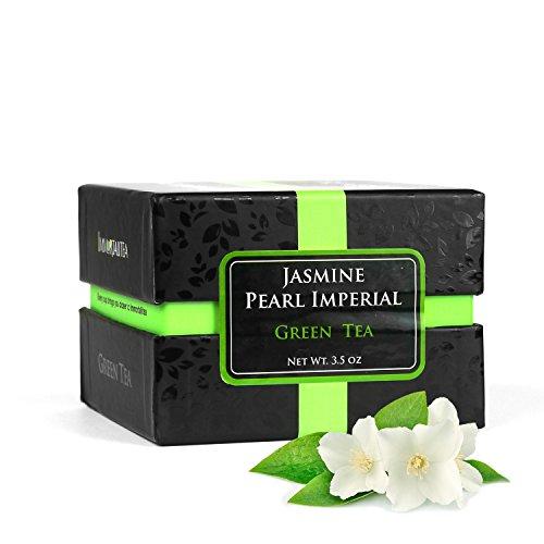 Jasmine Green Tea Pearls Handrolled - Imperial Loose Leaf...