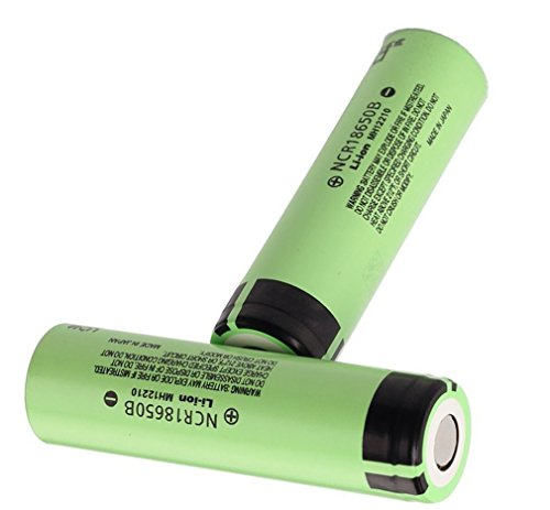 Panasonic NCR18650B Rechargeable Battery 3400mAh