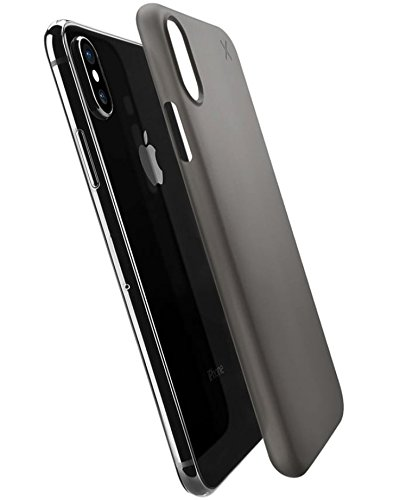 timeless design 8dc52 19fcd Casetify Ultra Slim Skin iPhone Xs Case with 0.45mm Thinnest Minimal Light  Cover and Anti-Scratch and Fingerprint Resistance Soft Thin Fit for Apple  ...