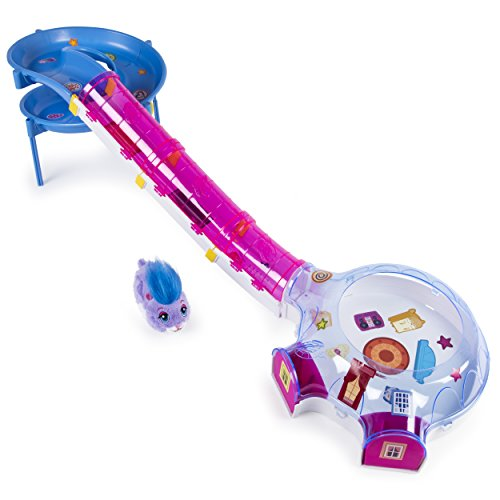 Zhu Zhu Pets – Hamster House Play Set with Slide and Tunnel