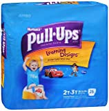 Huggies Pull-Ups Learning Designs Boys' Training Pants Size 2T-3T - 25 ct cs of 4, Pack of 3