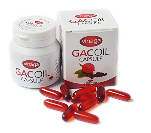 Vinaga GAC Oil - Momordica GAC Fruit Vitamin A Vitamin E - Anti-aging... Increases resistance dry eye, blurred vision, skin care