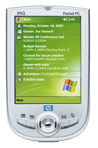 Hewlett Packard Wireless Pda (HP iPAQ 1945 Pocket PC)