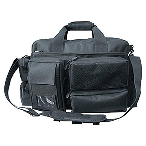Commando-Industries Security Einsatztasche mit 7 Taschen SecurityBag Laptoptasche Tragetasche Schwarz