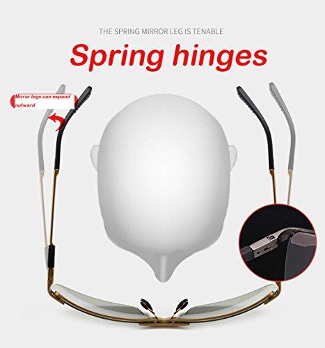 Lunettes Protection Pour Photosensibles Polarisées Conduite Intelligentes 1 De Lunettes Hommes UV Cw6pxCHrq