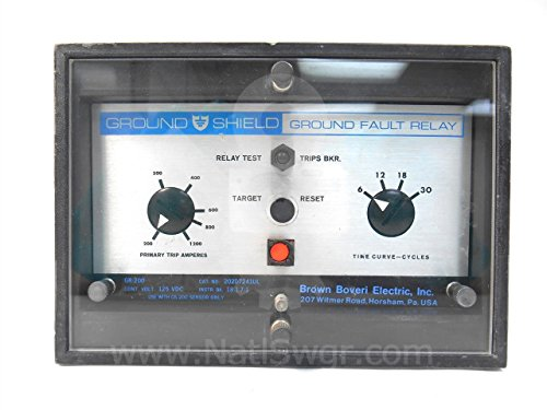 Ground Fault Relay (202D7241UL - GR-200 GROUND SHIELD GROUND FAULT RELAY)