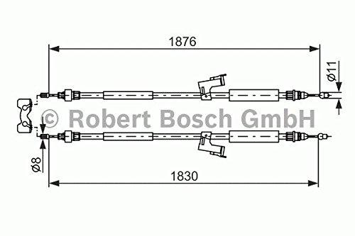 Bosch 1987477202 Bremsseil Robert Bosch GmbH Automotive Aftermarket 1 987 477 202