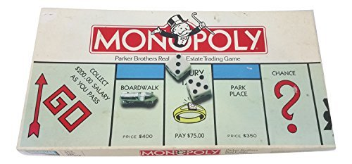 Monopoly, 1985 Editon from Parker Brothers