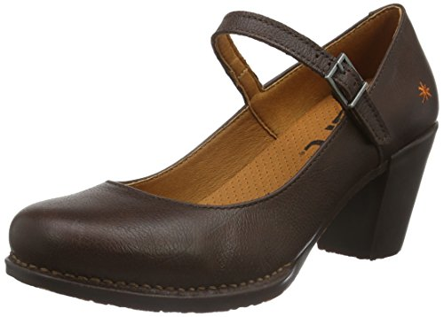 Marron art Janes Genova Mary Brown Femme Z6qIv6